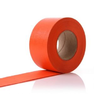 Orange Paper Display Border Roll 48mm x 50M Fadeless DuraFrieze - 2 Rolls